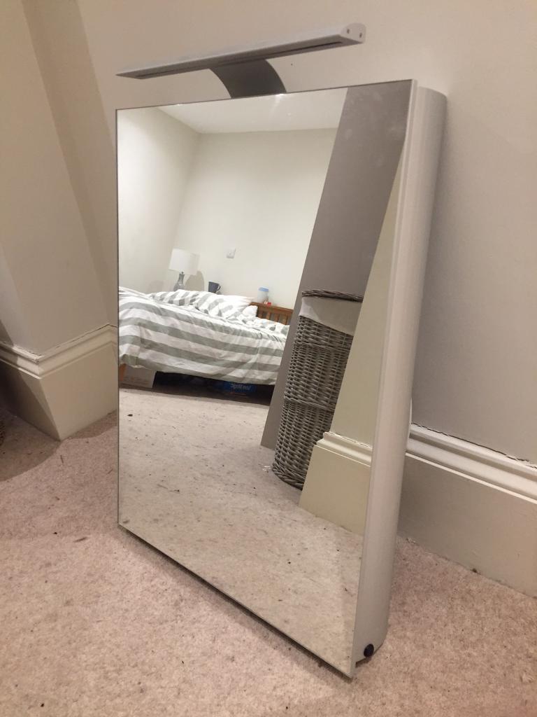 Saneux bathroom mirror cabinet