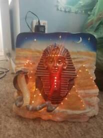 Egyptian Fibre Optic Novelty Lamp!