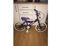 "MAGNA GIRLS BIKE, 16"" WHEELS, fully working and good used condition"