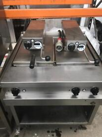 MKN high speed clamp contact griddle