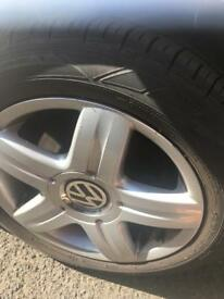 VW alloys and wheels