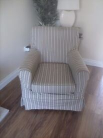 ikea armchair and cover