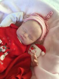Stunning reborn baby