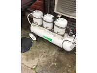 Bambi MD 225/1000 Compressor with wheels