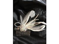 New wedding hair combs, tiaras and veins for brides and bridesmaids