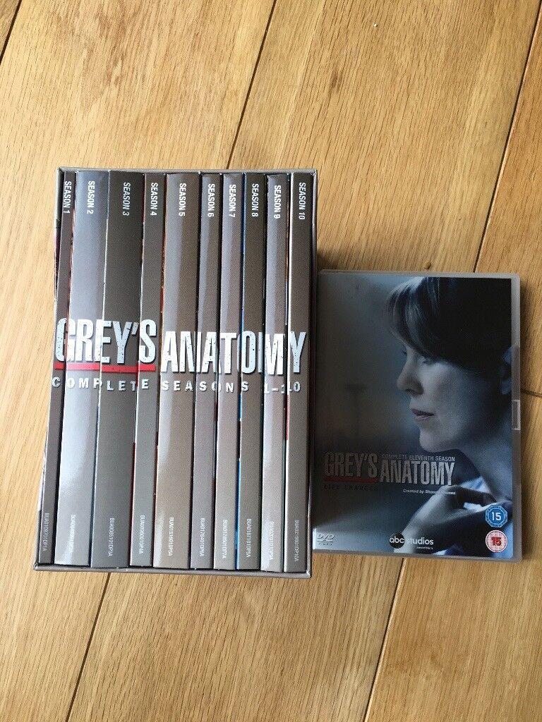 Grey's Anatomy Series 1-10 box set plus Series 11