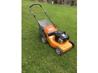 High Quality Husqavana Self Propelled Mower starts 1st pull!