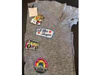 Next t-shirt age 10 grey