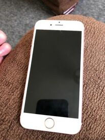 iPhone 6s rose gold 64gb perfect condition comes with charger