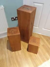 Oak blocks (3)