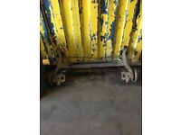 Ford Fiesta Zetecs Rear Axle