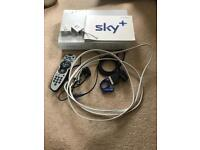 White Sky box and WiFi router thing