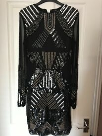 Stunning River Island embellished dress