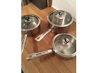 Morphy Richards saucepan set