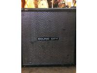 Original Sound City Guitar amp CAB only