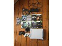 Xbox 360, 3 Controllers and 9 Games