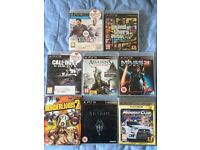 PS3 with 8 games and MORE! FOR SALE!!!