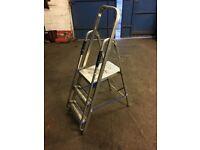3 tread platform step ladders with handrail professional quality steps