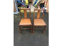 2 Dining Rooms Chairs for Sale