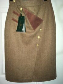 Holland and Cooper tweed skirt size 6/8