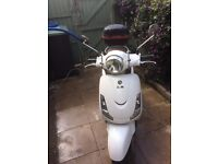 Sym Fiddle 125cc been in storage for 5 years No MOT very low mileage