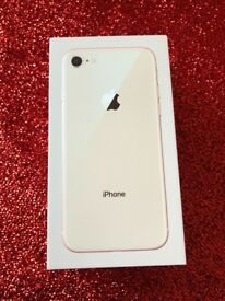 iPhone 8 64gb gold excellent price ££ 550 all boxed