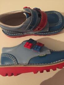 Lego kickers infant shoes boys size 10