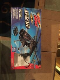 Air Hogs Apache Helicopter toy model