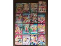 BARBIE DVD BUNDLE - 15 DVDS