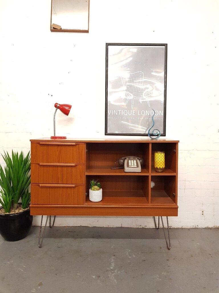 new style a7c39 7521c Mid Century Vintage Sideboard Media Unit | in New Cross, London | Gumtree