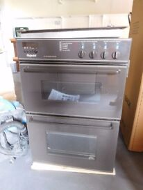 HOTPOINT DOUBLE OVEN & HOB