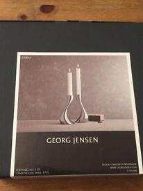 Georg Jensen Cobra candleholders