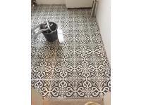 The ceramic tiler