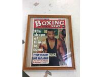 Boxing news all Tyson related