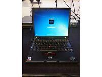 IBM X41 Notebook CPU 1.6 GHZ RAM 1.5GB HDD 40GB WINDOWS 10