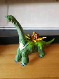 Imaginext brontesaurus dinosaur