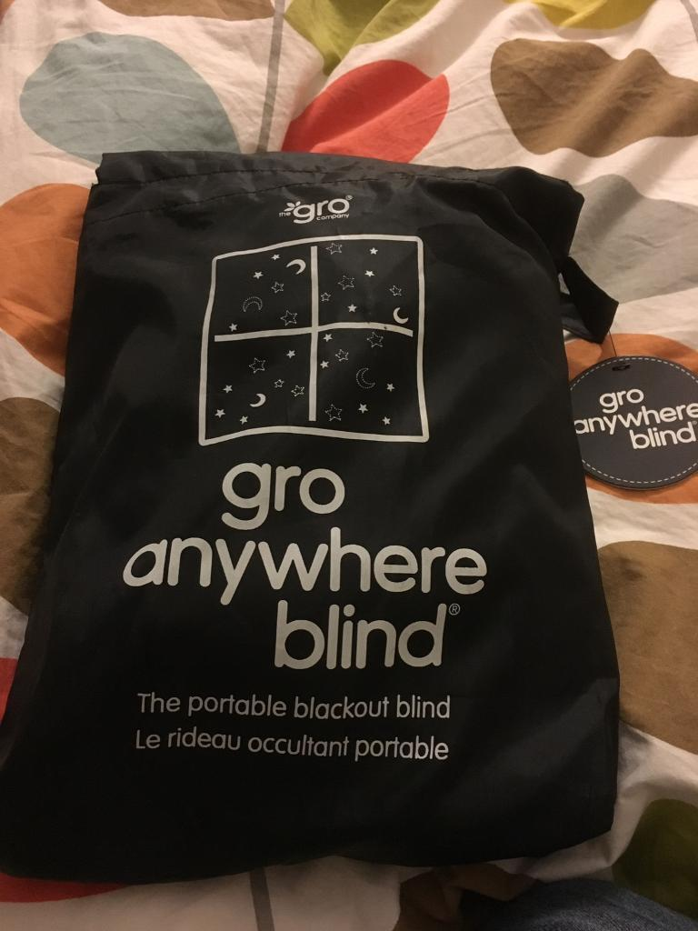 Black out blind - GRo anywhere blind