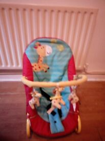 Baby bouncer, bloddy good clean condition