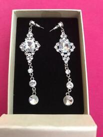 Gorgeous glamorous fashion earrings from Wallis