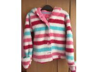 Joules Girls Fleece Jacket 2-3yrs