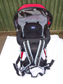 Chicco Caddy Knapsack Baby/Toddler backpack carrier for hill walking