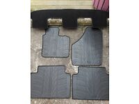 CAR MAT SET AND BOOT COVER .QUALITY TRAVALL BRAND,TO FIT SEAT ALHAMBRA /VOLKSWAGEN SHARAN