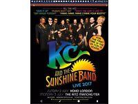 KC & The Sunshine Band 1 x Ticket Standing Koko Club Camden Town London
