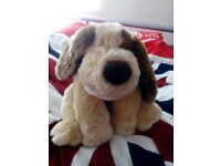 patch dog - keel toys simply soft collection