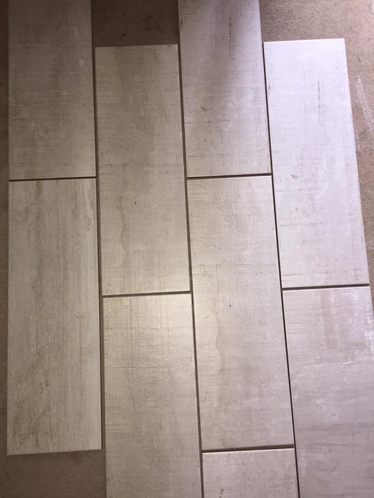 72 ceramic floor tiles