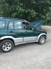 2003 Suzuki Grand Vitara 2.0 td **breaking**