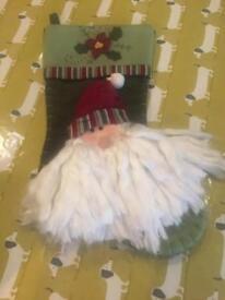 Luxury Christmas stocking