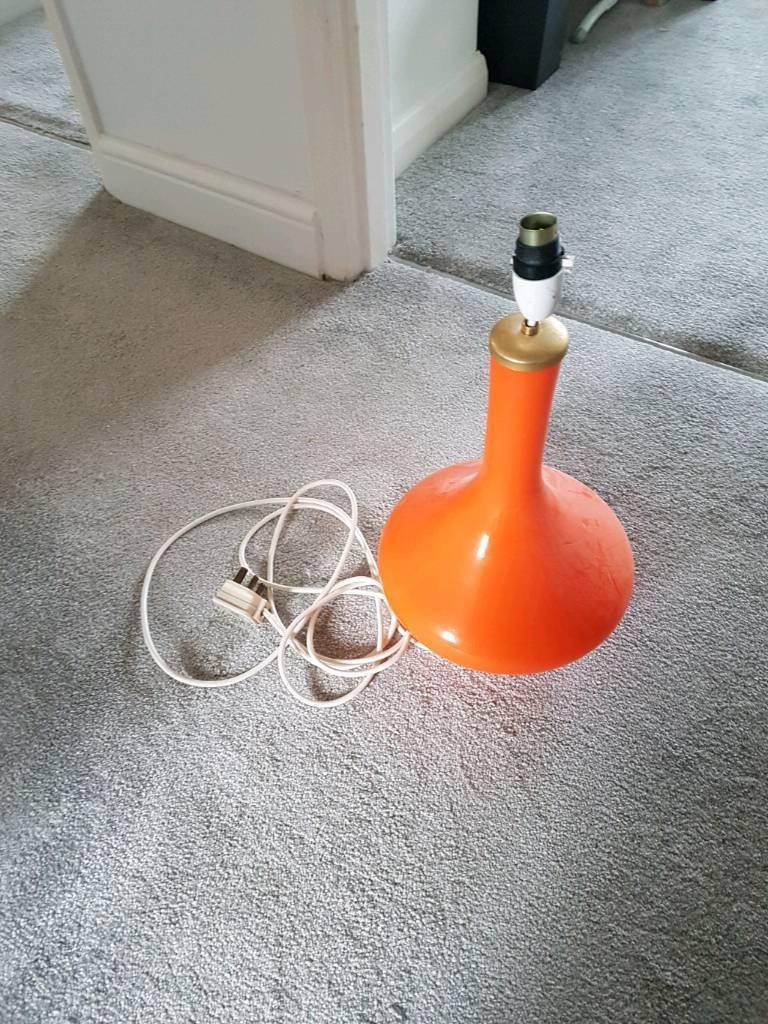 Lamp Retro orange