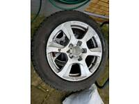 Audi a3 16 in Alloy Wheel And Tyre - 1 to 4 tyres available. tyres and alloys. Very good condition