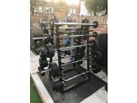 Commercial barbell set 5kg - 45kg